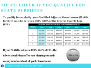 For The Year 2017 Covered California Will Base Subsidy On Federal Poverty Level Guidelines